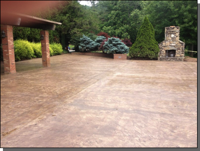 Grove Park Inn Clubhouse Asheville, North Carolina Olde English Slate Stamp (Sun Buff Color /  Cocoa Brown Release)