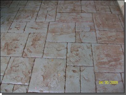 Ashlar Stone (Sand Color /  Walnut Release)