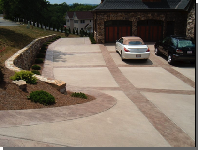 Blue Stone Texture (Dogwood Color / Plum Release) with Broom centers