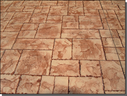 Ashlar Stone (Sand Color /  Rust Brown release)